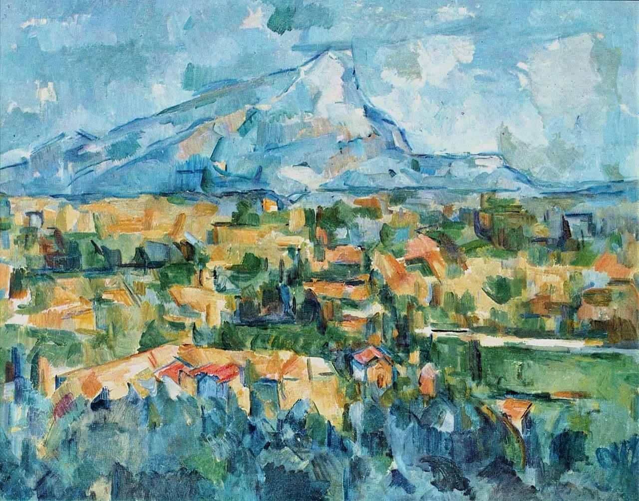 Cézanne, Montagne Sainte-Victoire (1904)