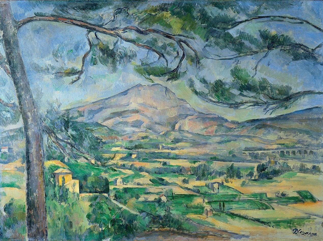 Paul Cézanne, La Montagne Sainte-Victoire (1885-1887)