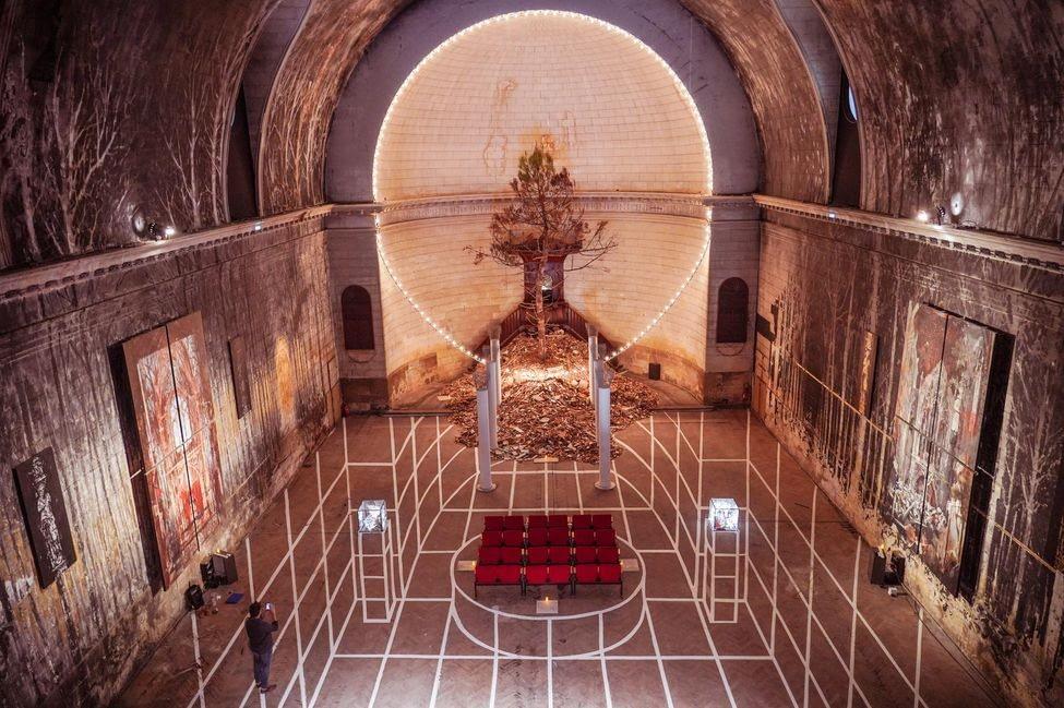 Gonzalo Borondo à Bordeaux au temple des Chartrons